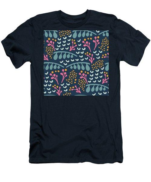 Snowberries Indigo, 2017 Men's T-Shirt (Athletic Fit)