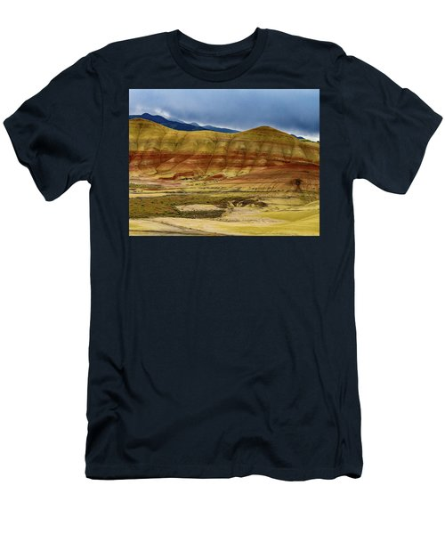 Storm Over Painted Hills Men's T-Shirt (Athletic Fit)