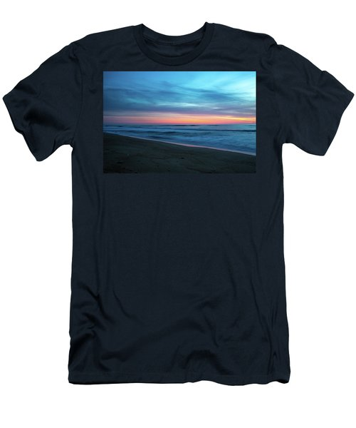 Men's T-Shirt (Athletic Fit) featuring the photograph Sunrise Over The Outer Banks by Lora J Wilson