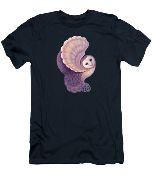 The Barn Owl Men's T-Shirt (Athletic Fit)