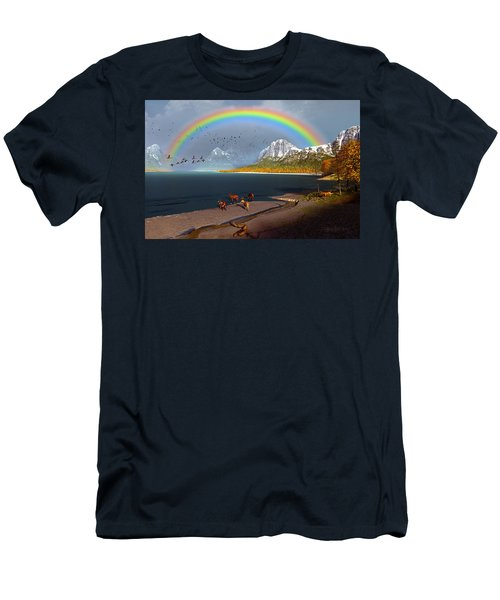 The Rings Of Eden Men's T-Shirt (Athletic Fit)
