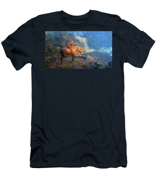 The Silver Horn Men's T-Shirt (Athletic Fit)