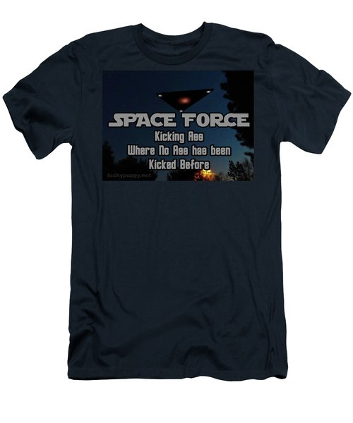 The United States . Space Force Men's T-Shirt (Athletic Fit)