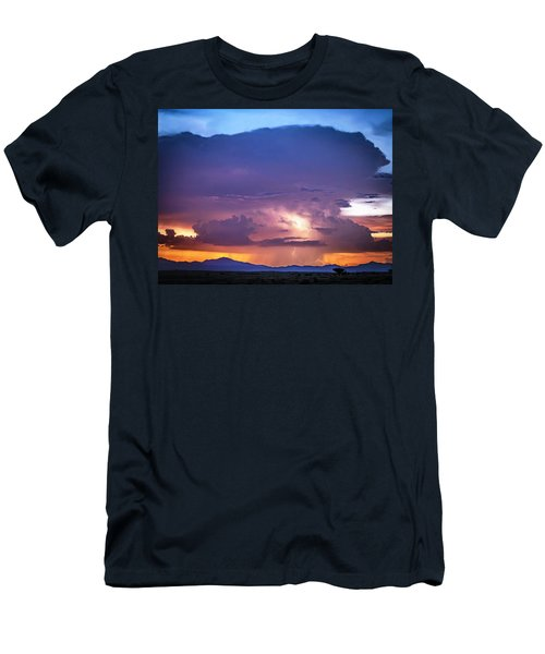 Through The Tower Men's T-Shirt (Athletic Fit)