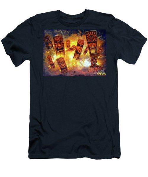 Tiki Hot Spot Men's T-Shirt (Athletic Fit)