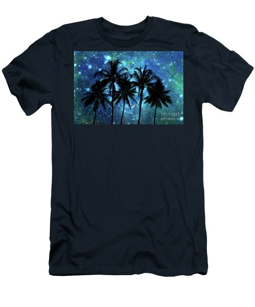 Tropical Night Men's T-Shirt (Athletic Fit)