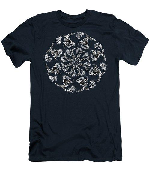 Rhythm Inside The Fish Kingdom Men's T-Shirt (Athletic Fit)