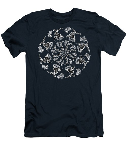 Rhythm Inside The Fish Kingdom Men's T-Shirt (Athletic Fit)