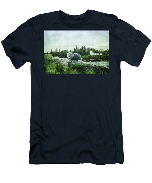 Men's T-Shirt (Athletic Fit) featuring the photograph Upon This Rock by Mike Braun