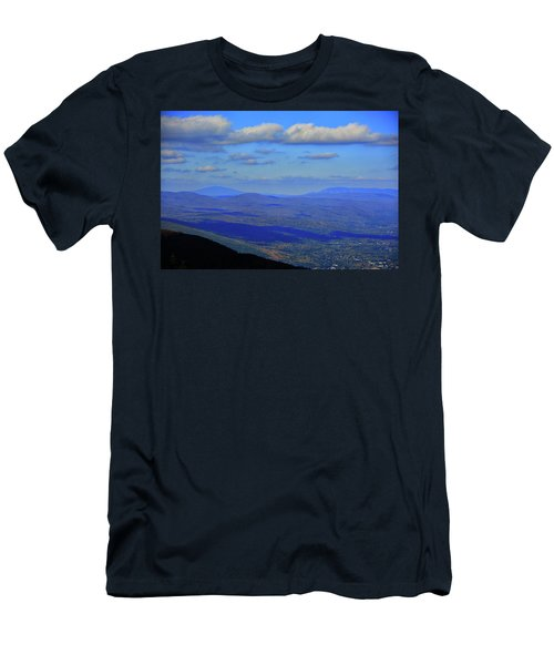 Men's T-Shirt (Athletic Fit) featuring the photograph Vermont From The Summit Of Mount Greylock 3 by Raymond Salani III