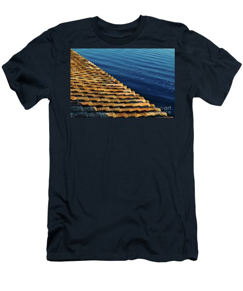 View Of The River From The Rooftop. Algarve Men's T-Shirt (Athletic Fit)