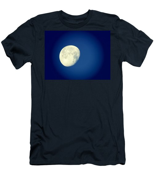 Men's T-Shirt (Athletic Fit) featuring the photograph Virgo Moon Three Quarters by Judy Kennedy