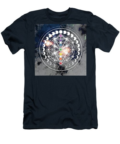 Men's T-Shirt (Athletic Fit) featuring the digital art We Are Beings Of Light by Bee-Bee Deigner