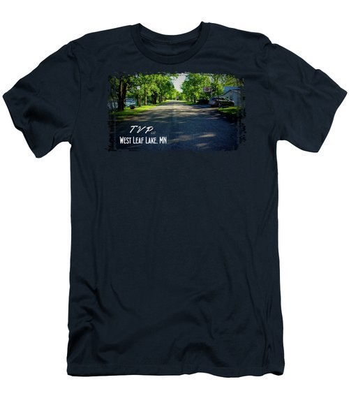 West Leaf Lake, Minnesota Men's T-Shirt (Athletic Fit)