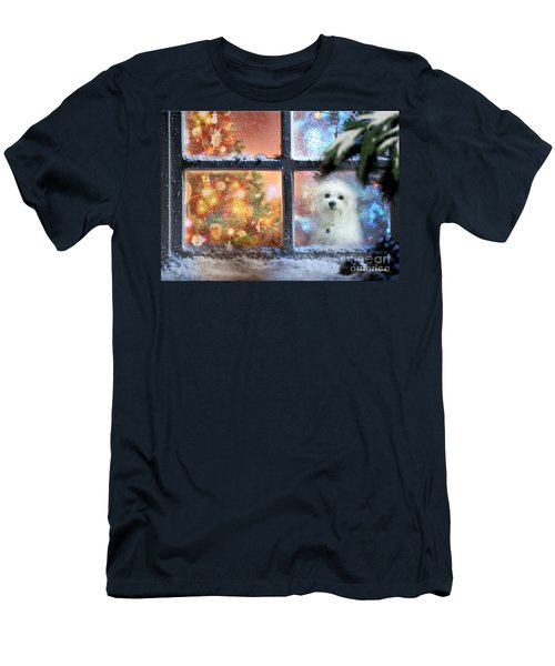 Where Is Santa ? Men's T-Shirt (Athletic Fit)