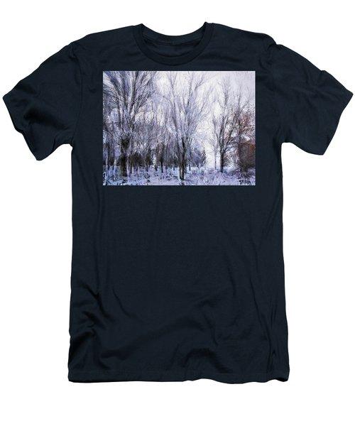 Winter Lace Men's T-Shirt (Athletic Fit)