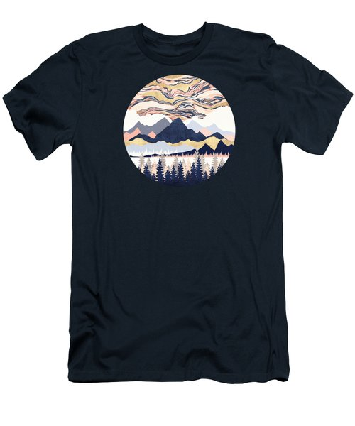 Winter's Sky Men's T-Shirt (Athletic Fit)