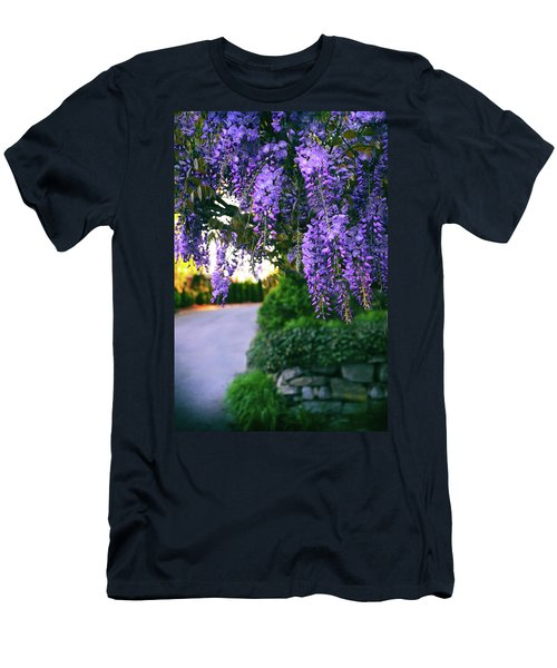 Wisteria At Sunset Men's T-Shirt (Athletic Fit)