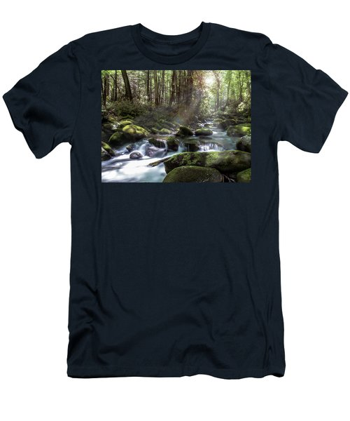 Woodland Falls Men's T-Shirt (Athletic Fit)