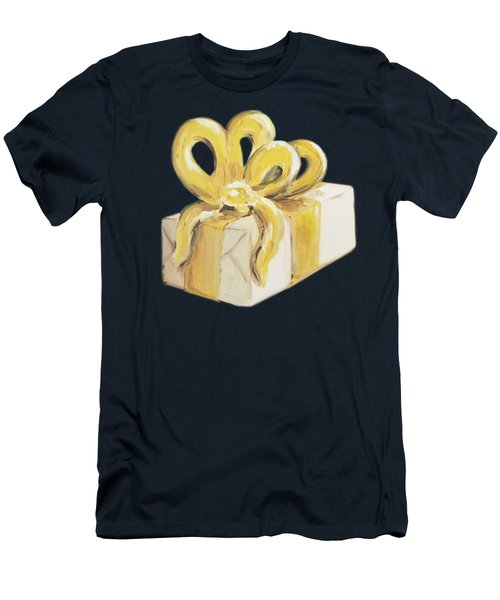 Yellow Present Men's T-Shirt (Athletic Fit)