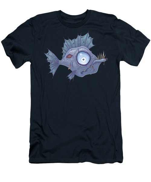 Zombie Fish Men's T-Shirt (Athletic Fit)