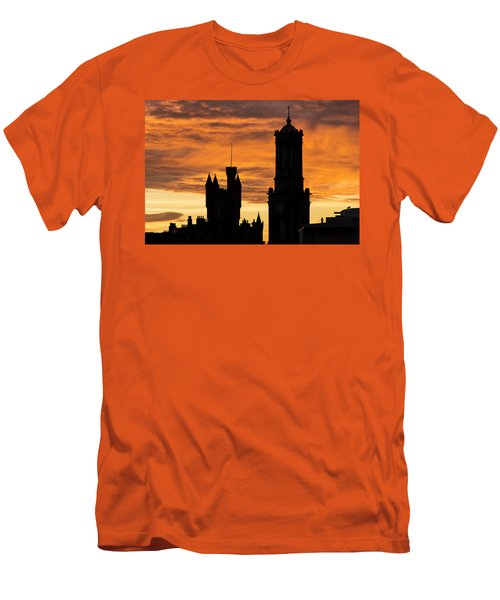 Aberdeen Silhouettes Men's T-Shirt (Athletic Fit)