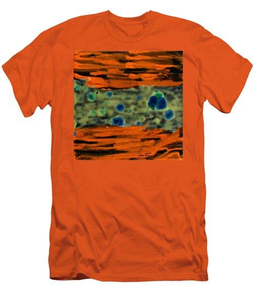 Men's T-Shirt (Slim Fit) featuring the painting Autumn Breeze by Joan Reese