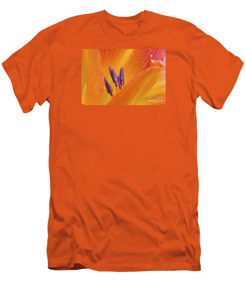 Day Lily  2 Men's T-Shirt (Athletic Fit)