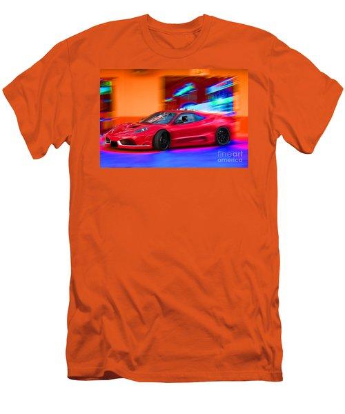 Men's T-Shirt (Slim Fit) featuring the photograph Ferrari by Gunter Nezhoda