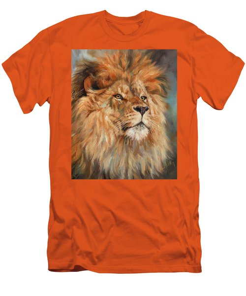 Lion Men's T-Shirt (Slim Fit)