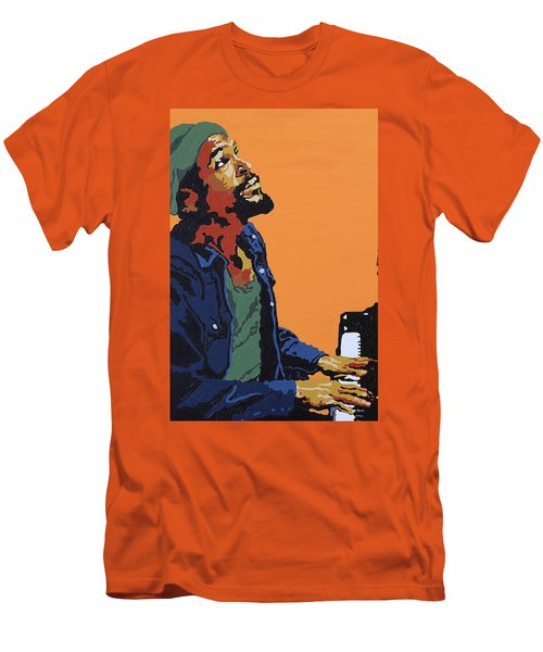 Marvin Gaye Men's T-Shirt (Athletic Fit)