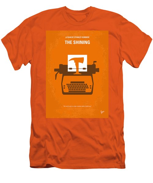 No094 My The Shining Minimal Movie Poster Men's T-Shirt (Slim Fit) by Chungkong Art
