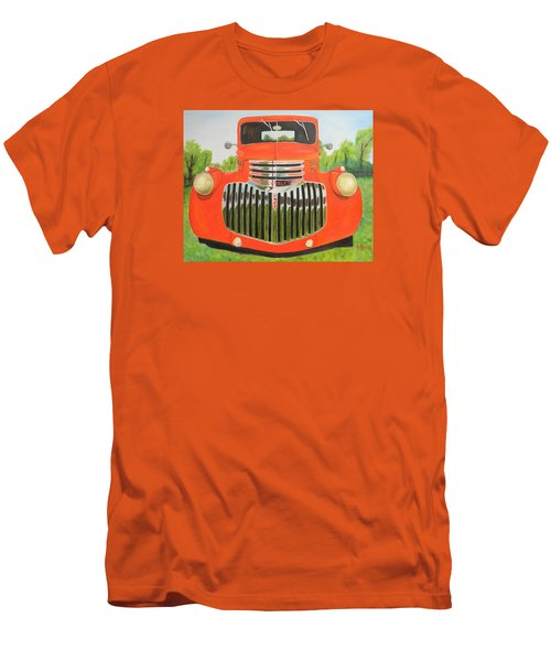 1946 Red Chevy Truck Men's T-Shirt (Athletic Fit)