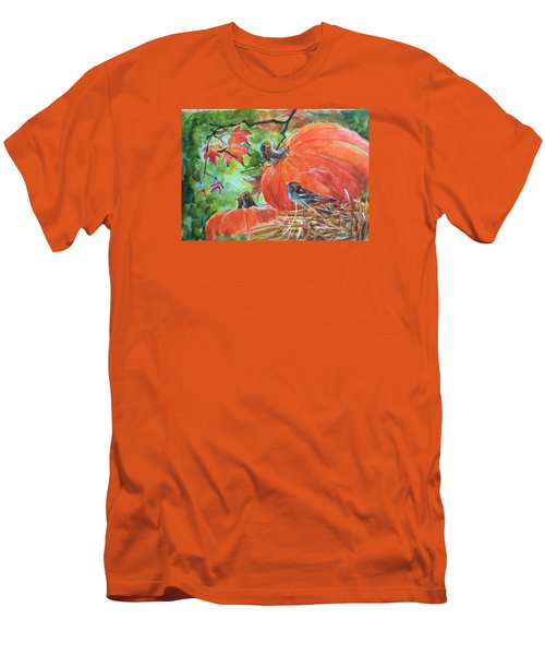 Fall Is Here Men's T-Shirt (Athletic Fit)