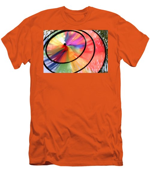 Men's T-Shirt (Slim Fit) featuring the photograph Wind Wheel by Henrik Lehnerer