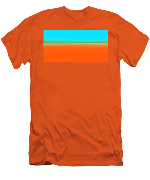 Travelling Through Paradise Men's T-Shirt (Athletic Fit)
