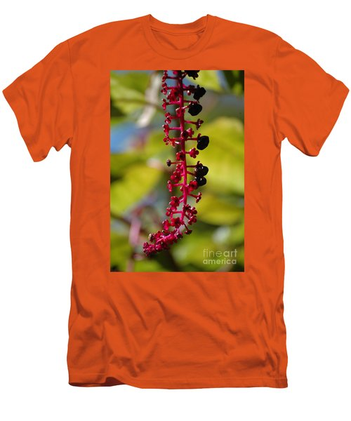 Men's T-Shirt (Athletic Fit) featuring the photograph Autumn Light by Christiane Hellner-OBrien