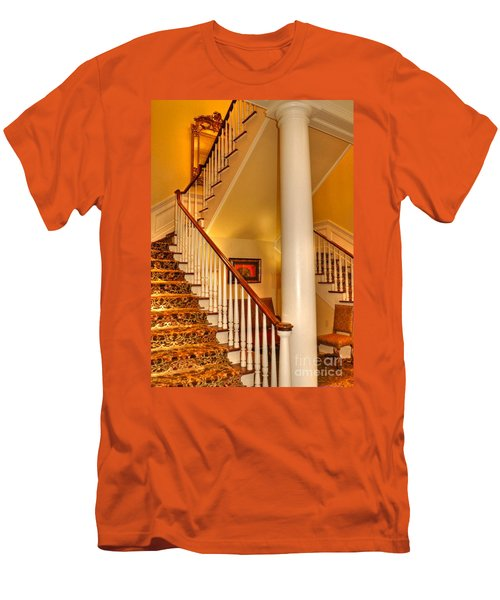 Men's T-Shirt (Slim Fit) featuring the photograph A Bit Of Southern Style by Kathy Baccari