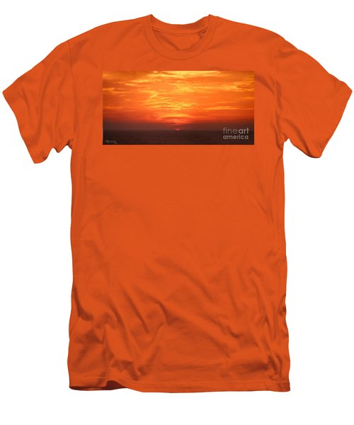 A Final Splash Of Color Men's T-Shirt (Athletic Fit)
