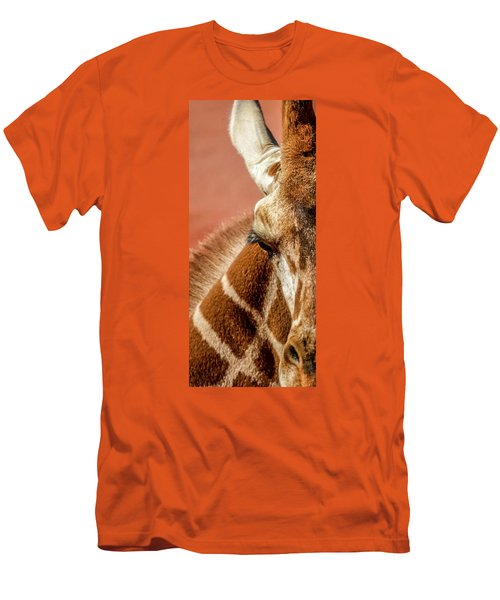 A Giraffe Men's T-Shirt (Athletic Fit)