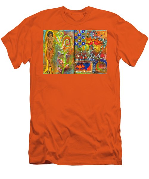 A Rebirth Of Sorts Men's T-Shirt (Slim Fit) by Angela L Walker