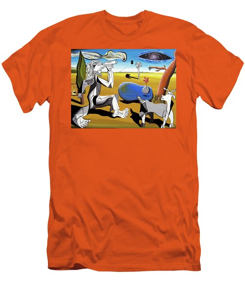 Abstract Surrealism Men's T-Shirt (Slim Fit) by Ryan Demaree