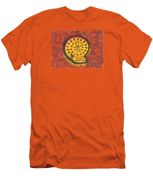 African Shell Pattern Men's T-Shirt (Athletic Fit)