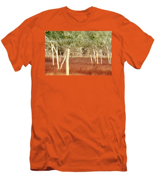 And The Trees Danced Men's T-Shirt (Slim Fit) by Holly Kempe