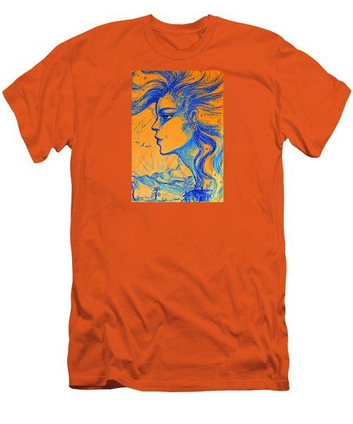 Anima Sunset Men's T-Shirt (Athletic Fit)