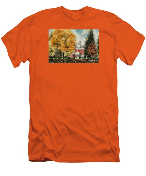 Antebellum Autumn Ironton Missouri Men's T-Shirt (Slim Fit) by Kip DeVore