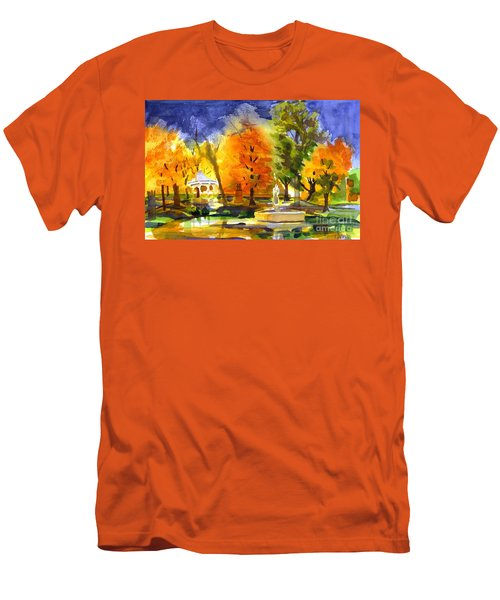 Autumn Gold 2 Men's T-Shirt (Athletic Fit)