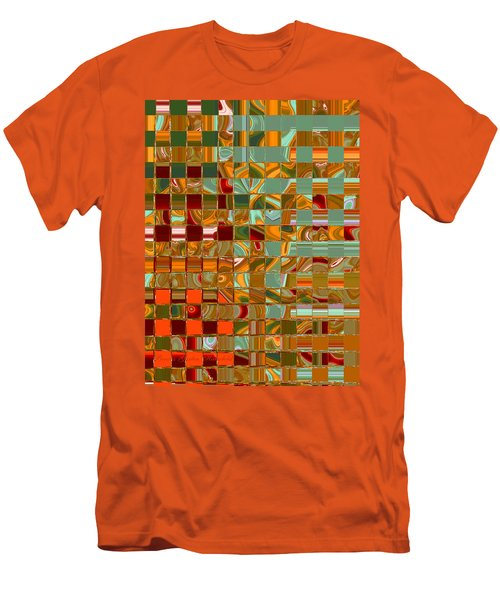 Autumn Leaves 8 - Abstract Images - Manipulated Photograph Men's T-Shirt (Athletic Fit)