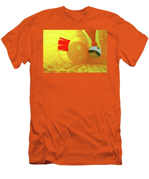 Men's T-Shirt (Slim Fit) featuring the photograph Balloon Fantasy 6 by Allen Beatty