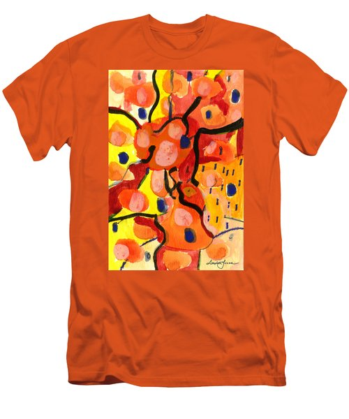 Balloons At Mid-day Men's T-Shirt (Athletic Fit)